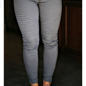 (Sizing Details) Umgee Moto Jeggings